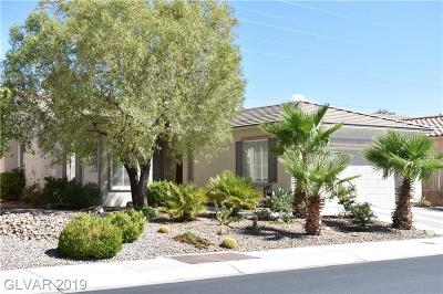Las Vegas Single Family Home For Sale: 4356 Regalo Bello Street