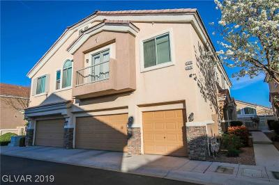 Henderson Condo/Townhouse For Sale: 1578 Wild Willey Way