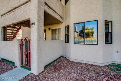Las Vegas Condo/Townhouse For Sale: 825 Rock Springs Drive #102