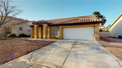 Las Vegas Single Family Home For Sale: 1648 Silver Point Avenue