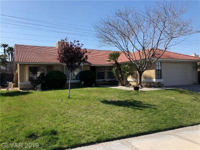 Las Vegas Single Family Home For Sale: 155 Cascade Drive