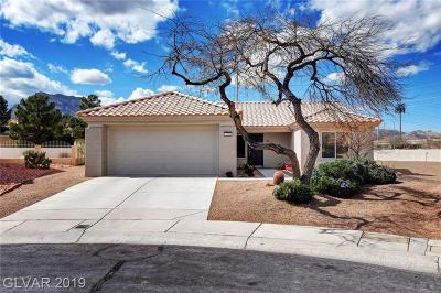 Las Vegas Single Family Home For Sale: 3109 Haddon Drive