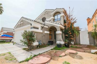 Las Vegas Single Family Home For Sale: 1319 Clagett Lane