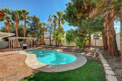 Las Vegas Single Family Home For Sale: 5725 Solimar Lane