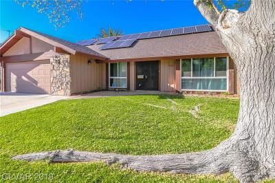 Las Vegas Single Family Home For Sale: 3500 El Cortez Avenue