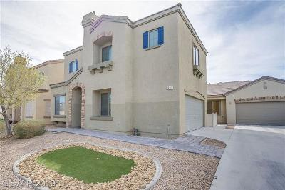 North Las Vegas Condo/Townhouse For Sale: 537 Coastal Dreams Avenue