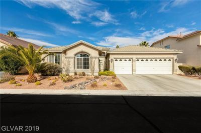 Las Vegas Single Family Home For Sale: 240 Whitly Bay Avenue