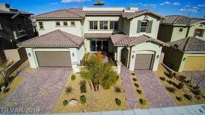 Las Vegas Single Family Home For Sale: 366 Calabria Ridge Street