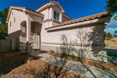 Las Vegas Single Family Home For Sale: 3337 Salmon Creek Drive