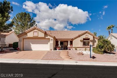 Las Vegas Single Family Home For Sale: 2813 Lotus Hill Drive