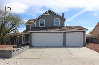 Las Vegas Single Family Home For Sale: 5771 Cloverleaf Circle