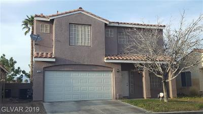 Las Vegas Single Family Home For Sale: 7352 Misty Glow Court