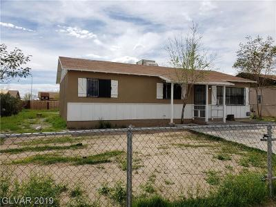 North Las Vegas Single Family Home For Sale: 3337 Gowan Road