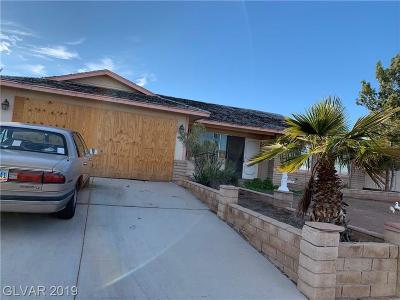 Las Vegas Single Family Home Under Contract - No Show