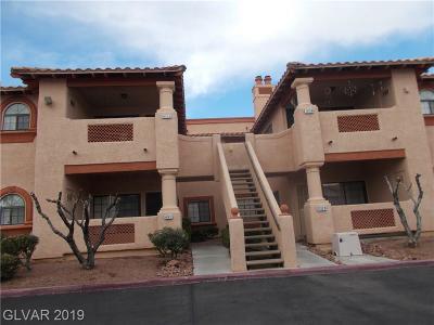 Las Vegas Condo/Townhouse For Sale: 1415 Santa Margarita Street #C