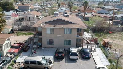 North Las Vegas Multi Family Home For Sale: 2036 Crawford Street