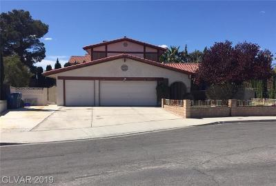 Las Vegas Single Family Home For Sale: 1616 Amalfi Court