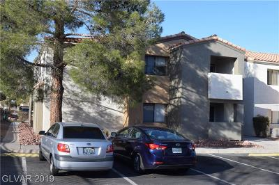 Las Vegas Condo/Townhouse For Sale: 3151 Soaring Gulls Drive #2085