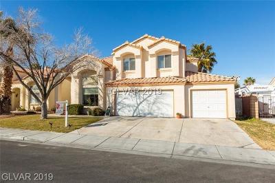 Las Vegas Single Family Home For Sale: 4916 Crimson Glory Lane