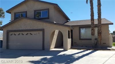 Las Vegas Single Family Home Under Contract - No Show: 5551 Toluca Court