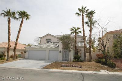 Las Vegas  Single Family Home For Sale: 21 Bridal Falls Court