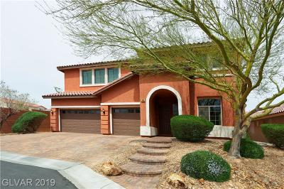 Las Vegas  Single Family Home For Sale: 7892 Stroh Lane