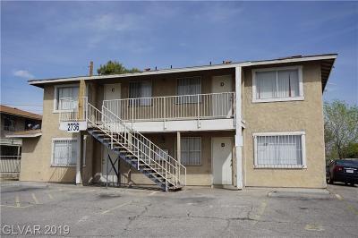 North Las Vegas Multi Family Home For Sale: 2736 Haddock Avenue