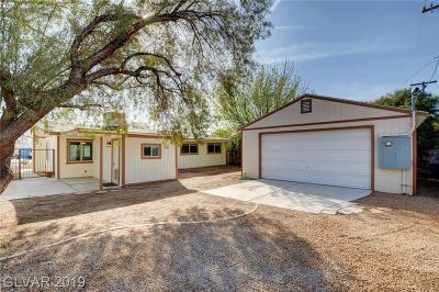 Boulder City Single Family Home Under Contract - No Show: 1208 Nelson Court