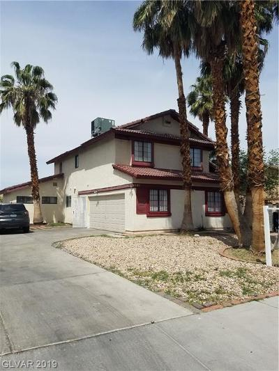 Las Vegas Single Family Home For Sale: 3366 Del Marino Street