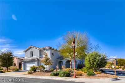 North Las Vegas Single Family Home Under Contract - No Show: 3904 Fledgling Drive
