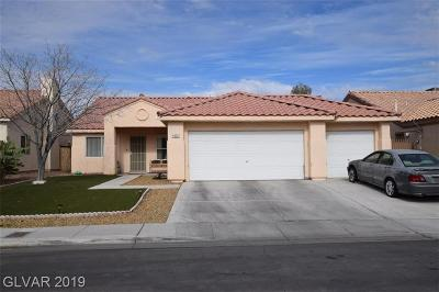 North Las Vegas Single Family Home For Sale: 4020 Galisteo Court