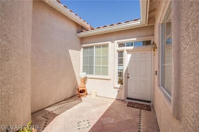Silverado Ranch Single Family Home Under Contract - No Show: 970 Garden Breeze Way