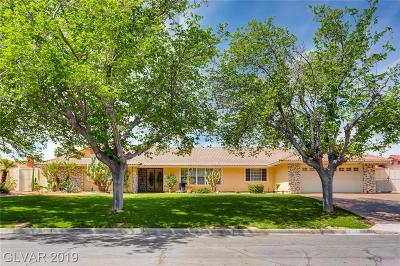 Clark County Single Family Home For Sale: 4371 Woodcrest Road