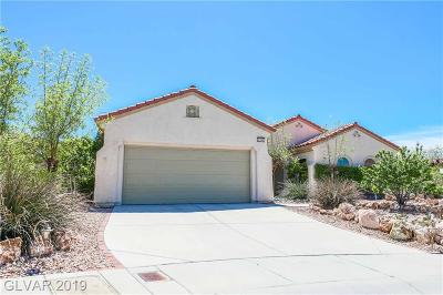 Henderson Single Family Home For Sale: 2245 Majestic Sunset Court