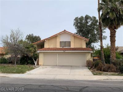Henderson Single Family Home Under Contract - No Show: 318 Quito Court