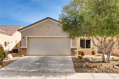 North Las Vegas Single Family Home For Sale: 7812 Starthroat Court
