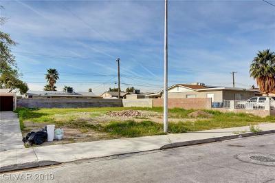 North Las Vegas Residential Lots & Land For Sale: 2017 Balzar Avenue