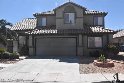 Las Vegas Single Family Home For Sale: 5521 Cinnamon Avenue