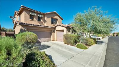 Las Vegas Single Family Home For Sale: 8490 Golden Fern Avenue