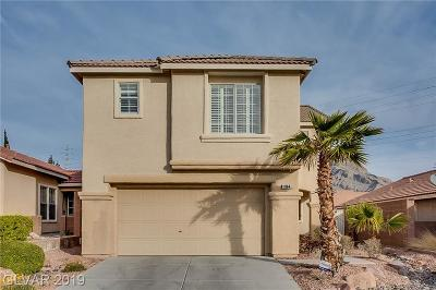 Las Vegas NV Single Family Home Under Contract - No Show: $365,000