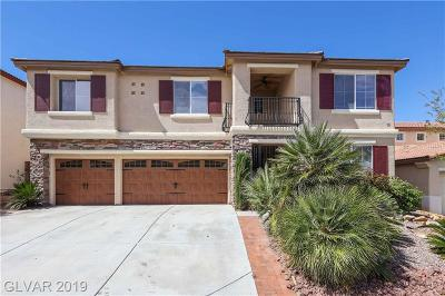 Las Vegas Single Family Home Under Contract - No Show: 3233 Bishop Pine Street