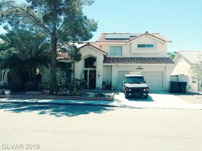 North Las Vegas Single Family Home For Sale: 1643 Walingwood Drive