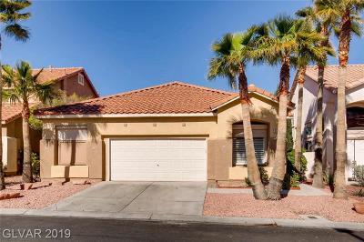 Las Vegas Single Family Home For Sale: 824 Cambridge Cross Place