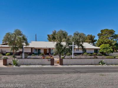 Las Vegas Single Family Home For Sale: 2625 Westwind Road
