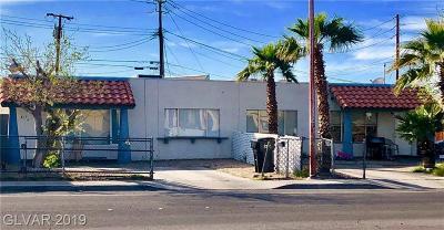 Henderson Multi Family Home For Sale: 815 North Major Avenue
