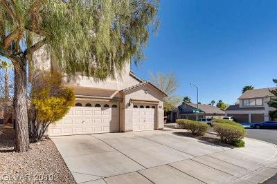 Seven Hills Single Family Home For Sale: 2744 Sunlight Creek Street