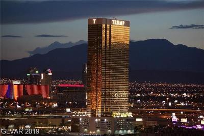 Trump Intl Hotel & Tower-, Trump Intl Hotel & Tower- Las, Signature At Mgm, Palms Place A Resort Condo & S, Vdara Condo Hotel, Platinum Resort Condo High Rise For Sale: 2000 Fashion Show Drive #4402