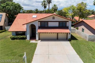 Las Vegas, North Las Vegas, Henderson Single Family Home For Sale: 1716 Rambla Court