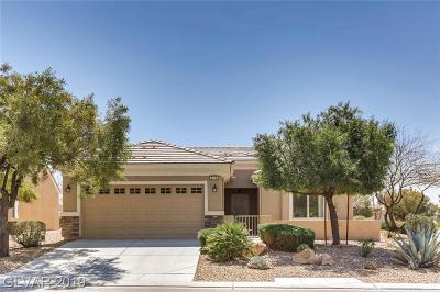North Las Vegas Single Family Home For Sale: 2713 Willow Wren Drive