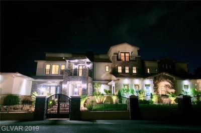 Las Vegas Single Family Home For Sale: 4664 Evan Ridge Court